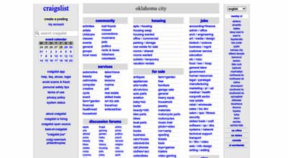 Craigslist com oklahoma city