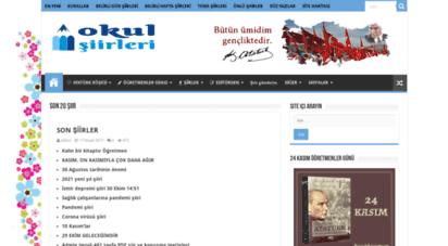 okulsiirleri.com - okulsiirleri.com - en güzel ve kapsamlı okul şiirleri  anasayfa