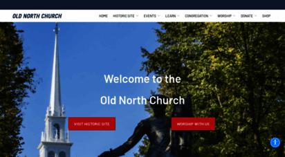 oldnorth.com - the old north church