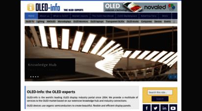 oled-info.com - oled info  the oled experts