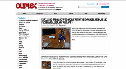 olimex.com - olimex ltd - olinuxino arduino maple pinguino arm open source hardware development boards