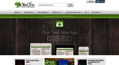 olivetree.com - the olive tree bible app by olive tree bible software