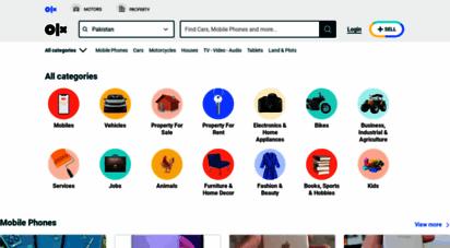 similar web sites like olx.com.pk