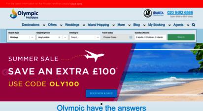 olympicholidays.com - holidays to greece, greek islands, cyprus & beyond  olympic holidays