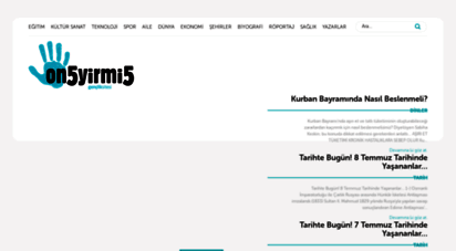 on5yirmi5.com - on5yirmi5 - gençlik haber sitesi