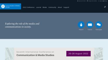 oncommunicationmedia.com - communication and media studies research network