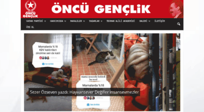 oncugenclik.org.tr - öncü gençlik  partisi olmayan bir halkın hiç bir şeyi yoktur!