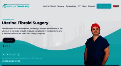 onderkoc.com - jinekolog ankara - prof. dr. önder koç