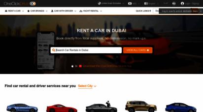 oneclickdrive.com - rent a car dubai  cheap car rental dubai aed 40/day  car hire uae