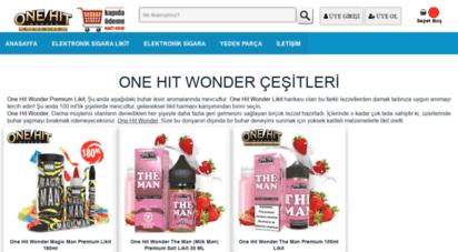 onehitwonderfiyat.com - one hit wonder likit çeşitleri 100ml