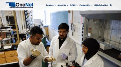 onenet.net - onenet  advancing technology across oklahoma