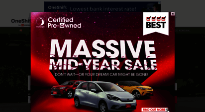 oneshift.com - buy & sell new car - used cars in singapore  oneshift.com