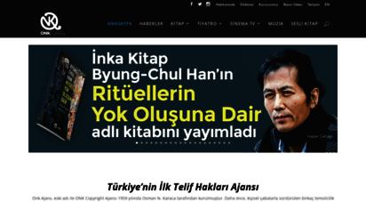 onkajans.com - onk ajans  türkiye´nin ilk telif hakları ajansı