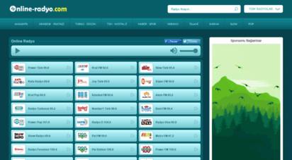 online-radyo.com - radyo dinle, canlı radyo dinle, radyo - online-radyo.com