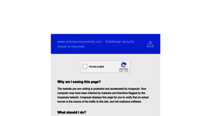 onlinecomponents.com - online components - authorized electronics distributor