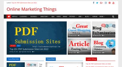 onlinemarketingthings.com