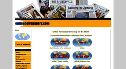 onlinenewspapers.com - thousands of online newspapers on the web : world newspaper directory : listed on onlinenewspapers.com