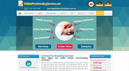 onlineproofreadingservices.net - affordable online proofreading services  24/7 support