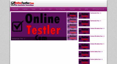 onlinetestler.com