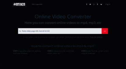 onlinevideoconverter.party - online video converter. convert online videos to mp4 & mp3.
