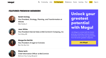 onmogul.com - mogul  unlock your greatest potential with mogul