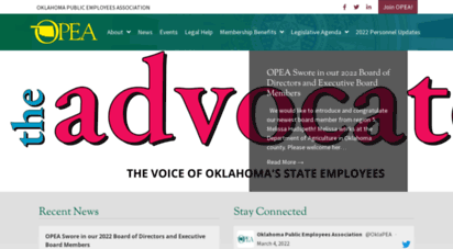 opea.org - opea - oklahoma´s public employees ssociation - representing oklahoma´s state employees and retirees