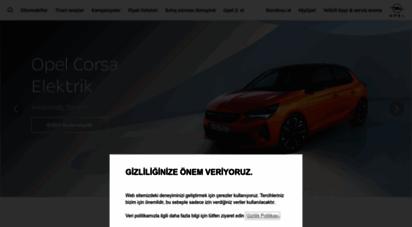 opel.com.tr - opel türkiye - gelecek herkesindir