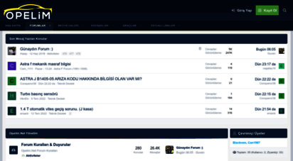opelim.net - opel fan club turkey