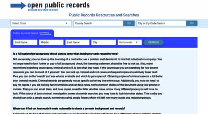 open-public-records.com