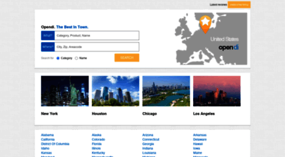 opendi.us - business pages and reviews - opendi