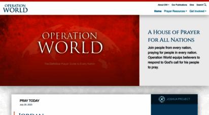 operationworld.org - operation world  home