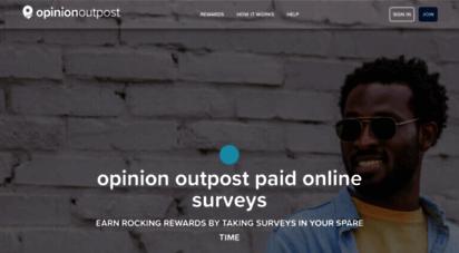 opinionoutpost.co.uk - paid surveys online  points