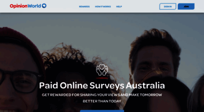 opinionworld.com.au - opinionworld - online surveys