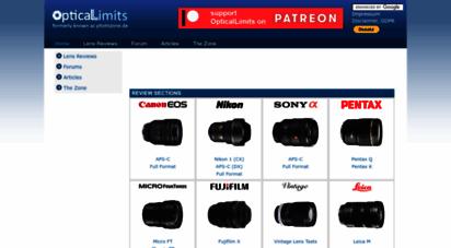 opticallimits.com - welcome to opticallimits!