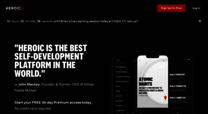 optimize.me - optimize with brian johnson