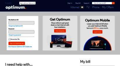 optimum.net -  your browser