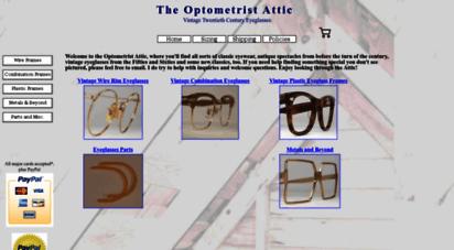 optometristattic.com - optometrist attic: vintage eyeglsss, antique eyeglss frames
