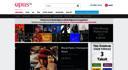 opus3a.com - opus3a - plak, lp, cd, dvd - müzik market