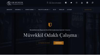 or.av.tr - ankara ceza avukatı - or hukuk ve danışmanlık ofisi
