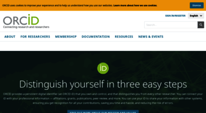 orcid.org -