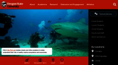 oregonstate.edu - oregon state university