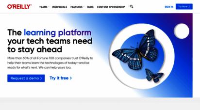 oreilly.com - o´reilly media - technology and business training