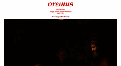 oremus.org - oremus