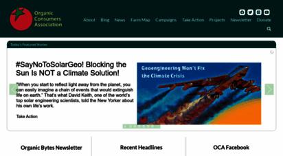 similar web sites like organicconsumers.org