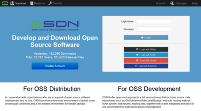 osdn.net - develop and download open source software - osdn