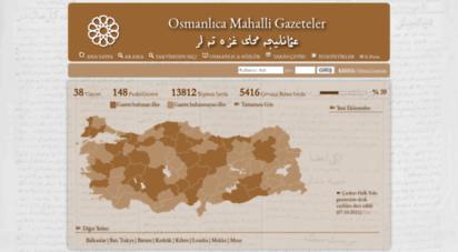 osmanlicagazeteler.org -