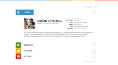 osmansoylemez.com - osman söylemez  mobil uygulama geliştirici