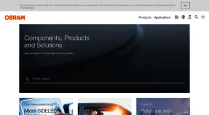 Welcome to .au International Homepage of OSRAM
