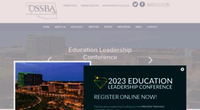 ossba.org - oklahoma state school boards ssociation