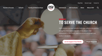 osv.com - to serve the church